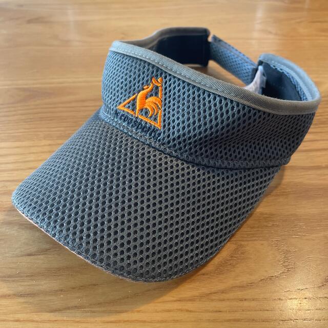le coq sportif(ルコックスポルティフ)のゴルフ用 サンバイザー le coq sportif メンズの帽子(サンバイザー)の商品写真