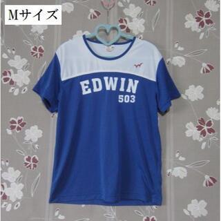エドウィン(EDWIN)の美品 EDWIN 503 Tシャツ パジャマ Mサイズ ストレッチ 半袖(Tシャツ/カットソー(半袖/袖なし))