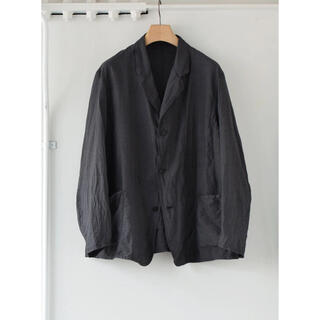 COMOLI - COMOLI 21SS 杢シルクジャケット チャコール サイズ3 新品未使用