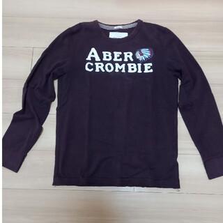 アバクロンビーアンドフィッチ(Abercrombie&Fitch)のアバクロンビー&フィッチロンT(Tシャツ/カットソー(七分/長袖))
