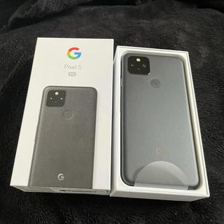 ANDROID - 【新品未使用】Google pixel5 黒