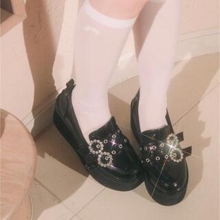 バブルス(Bubbles)のBUBBLES 厚底(ローファー/革靴)
