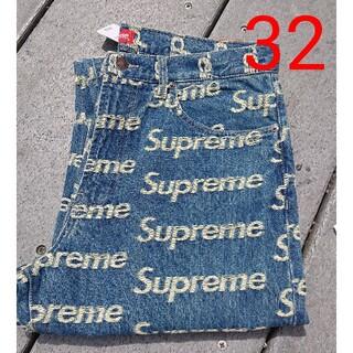 シュプリーム(Supreme)のSupreme Frayed Logos Regular Jean(デニム/ジーンズ)