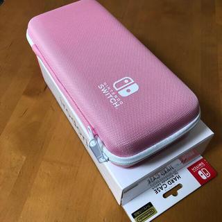 ニンテンドースイッチ(Nintendo Switch)の最終お値下げ 任天堂 switch ライセンス ケース ピンク(その他)