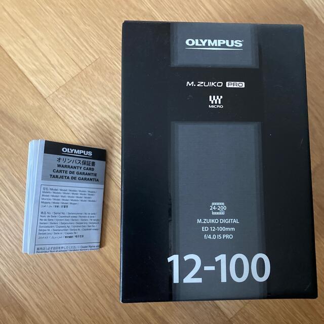 OLYMPUS(オリンパス)のM.ZUIKO DIGITAL ED12-100mm F4.0 IS PRO スマホ/家電/カメラのカメラ(レンズ(ズーム))の商品写真