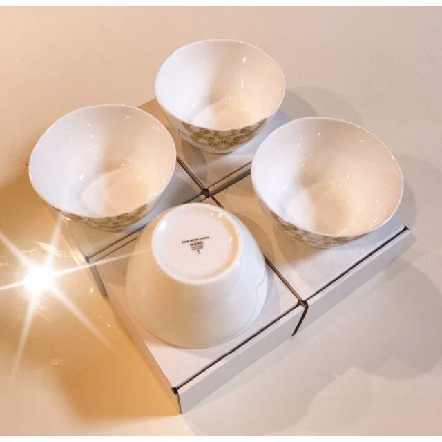 NIKKO(ニッコー)の◆新品4個◆NIKKO 小鉢 ボウル 加賀てまり◆送料込 インテリア/住まい/日用品のキッチン/食器(食器)の商品写真