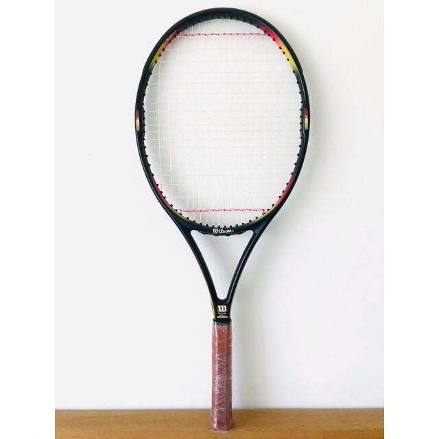wilson(ウィルソン)の【希少】ウィルソン『プロスタッフ クラシック 110』テニスラケット/台湾製 スポーツ/アウトドアのテニス(ラケット)の商品写真