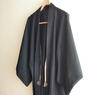 男性 羽織*黒(着物)