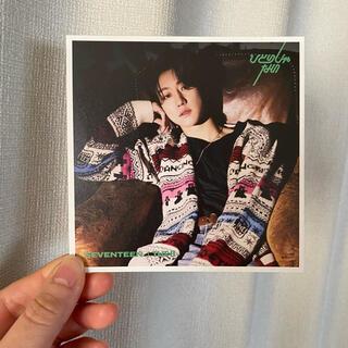 セブンティーン(SEVENTEEN)のSEVENTEEN ひとりじゃない THE8 リリースイベントエントリーカード(K-POP/アジア)