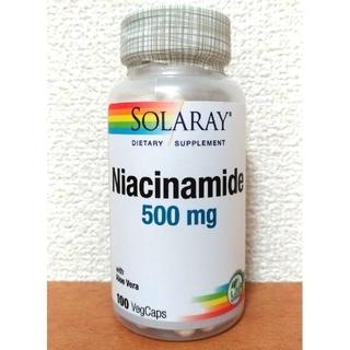 ソラレー ナイアシンアミド500mg SOLARAY Niacinamide(ビタミン)
