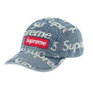 シュプリーム(Supreme)のsupreme(シュプリーム)Frayed Denim Camp Cap(キャップ)