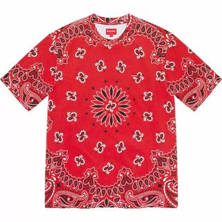 シュプリーム(Supreme)のSupreme Small Box Tee Bandana RED(Tシャツ/カットソー(半袖/袖なし))