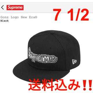 シュプリーム(Supreme)の【新品★送料込み‼️】Gonz Logo New Era ブラック(キャップ)