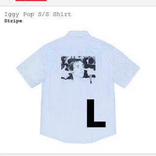 シュプリーム(Supreme)のSupreme iggy Pop S/S Shirt ストライプ L(シャツ)