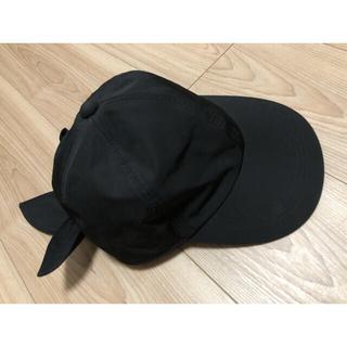 ドゥロワー(Drawer)のUSED yori 2019 帽子 ブラック ワンサイズ(キャップ)