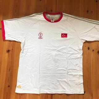 アディダス(adidas)のアディダス ワールドカップ2002トルコ代表 Tシャツ(記念品/関連グッズ)