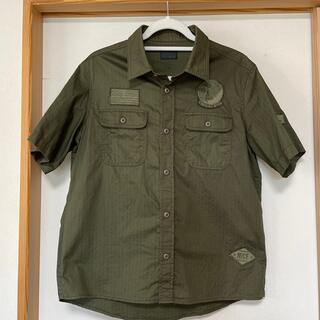 ニーキュウイチニーキュウゴーオム(291295=HOMME)のメンズ*ミリタリーシャツ(シャツ)