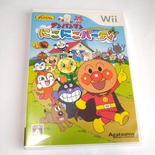 ウィー(Wii)のアンパンマン  にこにこパーティ Wii(家庭用ゲームソフト)