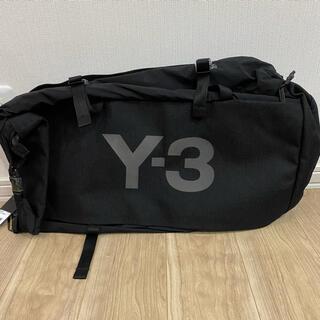 ワイスリー(Y-3)の新品 Y-3 ダッフルバック 黒 2way バックパック GK2108(ボストンバッグ)