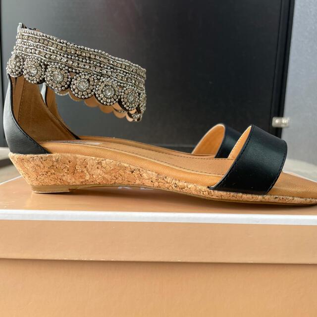 REZOY(リゾイ)の★REZOY★ビジュー足首引き締まる!サンダル レディースの靴/シューズ(サンダル)の商品写真