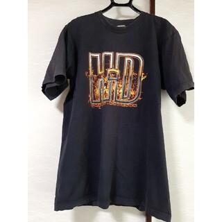 ハーレーダビッドソン(Harley Davidson)のUSA製 ハーレーダビットソン L(Tシャツ/カットソー(半袖/袖なし))