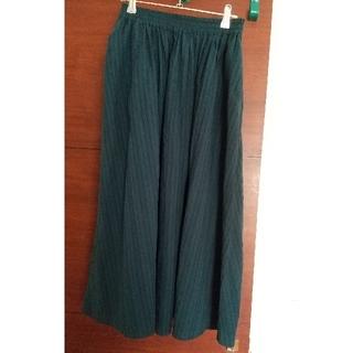 グリーンパークス(green parks)のロングスカート フリーサイズ(ロングスカート)