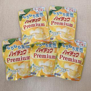 森永製菓 - ハイチュウ プレミアム すっぱいレモン×5袋