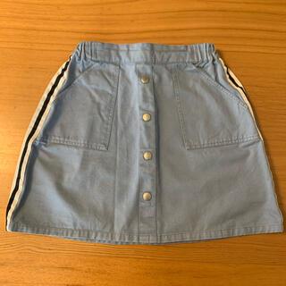 ナルミヤ インターナショナル(NARUMIYA INTERNATIONAL)のミルキーコースト スカート 150cm(スカート)