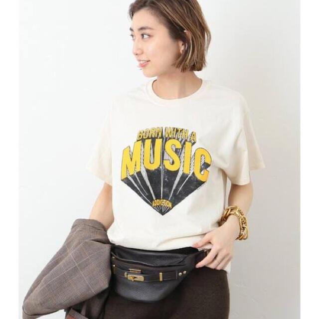 DEUXIEME CLASSE(ドゥーズィエムクラス)のNEWTONE / ニュートーン MUSIC Tシャツ ドゥーズィエムクラス  レディースのトップス(Tシャツ(半袖/袖なし))の商品写真