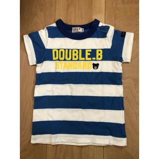 DOUBLE.B - ダブルビー Tシャツ 80サイズ