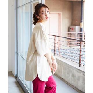 KANGOL - WEB別注 カンゴール エクストラコンフォート 裾ラウンドチュニックTシャツ M