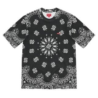 シュプリーム(Supreme)のSupreme Small Box Tee Bandana ブラック(Tシャツ/カットソー(半袖/袖なし))