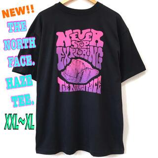 ザノースフェイス(THE NORTH FACE)の身幅広 ♪ ノースフェイス HAZE Tシャツ 黒 XXL ~ XL(Tシャツ/カットソー(半袖/袖なし))