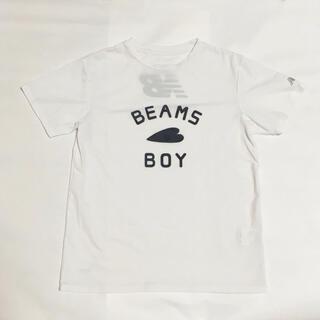 ビームスボーイ(BEAMS BOY)の美品!BEAMS BOY×ニューバランス コラボ Tシャツ M ビームスボーイ(Tシャツ(半袖/袖なし))