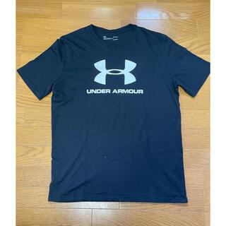 アンダーアーマー(UNDER ARMOUR)のアンダーアーマー Tシャツ 黒 Lサイズ(Tシャツ/カットソー(半袖/袖なし))