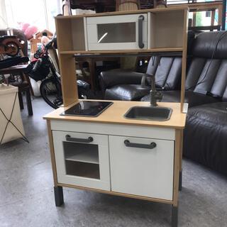 IKEA - IKEA おままごとキッチン 食器棚 DUKTIG ドゥクティグ