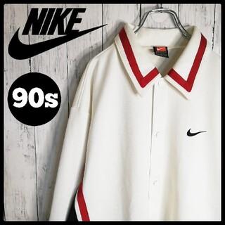 ナイキ(NIKE)の【スポーツMIX】90s NIKE 刺繍ロゴ 3色マルチ ゲームシャツ ゆるだぼ(シャツ)