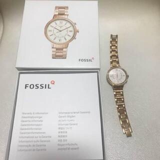 フォッシル(FOSSIL)のフォッシル FOSSIL Q スマートウォッチ 腕時計 レディース FTW501(腕時計)