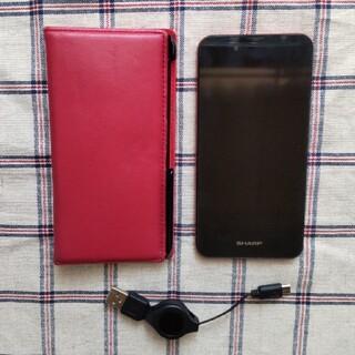 アクオス(AQUOS)のAQUOS SH-M04 Red (スマートフォン本体)