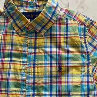 ラルフローレン(Ralph Lauren)のラルフローレン チェックシャツ 160(ブラウス)