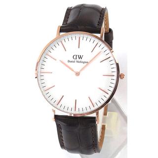 ダニエルウェリントン(Daniel Wellington)のDaniel Wellington ピンクゴールド 0111DW40mm (腕時計(アナログ))