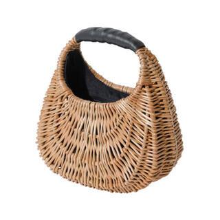 エイミーイストワール(eimy istoire)のエイミーイストワール ラウンドピクニックバッグ(かごバッグ/ストローバッグ)