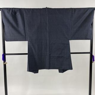 男着物 美品 優品 身丈145.5cm 裄丈67cm 正絹 【中古】(着物)