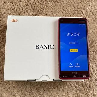 エーユー(au)のBAISIO 3 簡単スマホ(スマートフォン本体)