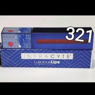 未使用 限定デザイン ラシャスリップス レッド 321 アーユーレディ(リップグロス)