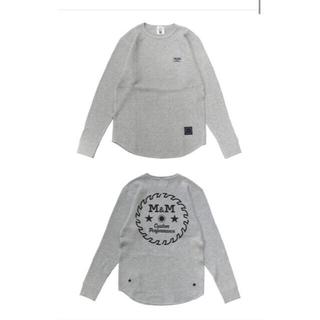 エムアンドエム(M&M)のキムタク着私物 M&M エムアンドエム  ワッフル サーマル ロンT (Tシャツ/カットソー(七分/長袖))