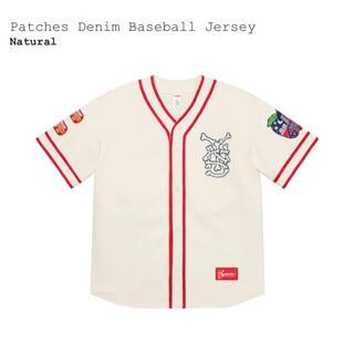 シュプリーム(Supreme)のSupreme Patches Denim Baseball Jersey XL(ジャージ)