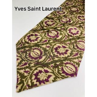 イヴサンローランボーテ(Yves Saint Laurent Beaute)のYves Saint Laurent/SILK100%/ネクタイ/SP075PF(ネクタイ)