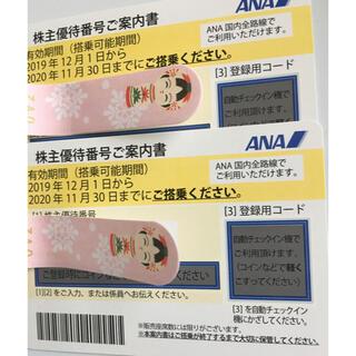 ANA 株主優待券 2枚 (その他)