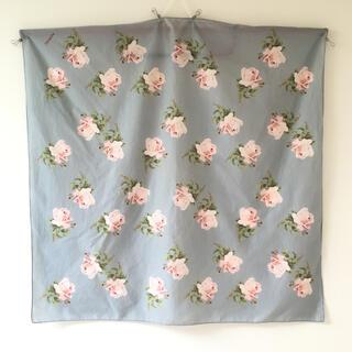 インゲボルグ INGEBORG 大判スカーフ バラ柄 薔薇 花柄 カネコイサオ